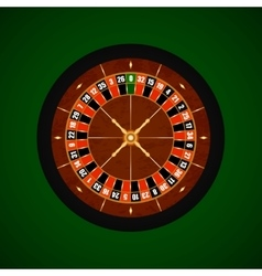 Casino Gambling Roulette Wheel vector
