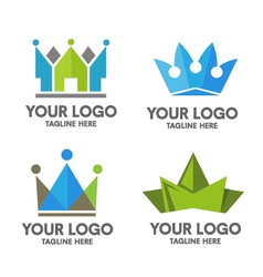 Creative crown vector