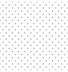 Pattern with circles and dots - seamless vector