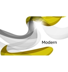 Swirl shape colorful line Futuristic abstract vector