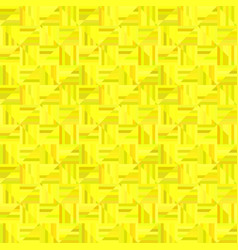 yellow abstract striped square tile mosaic vector image