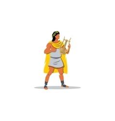 Apollo sign Mythological Greek guardian god of vector image vector image