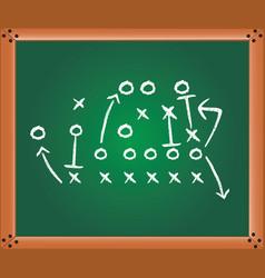 game plan vector image
