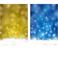Christmas abstract banners vector