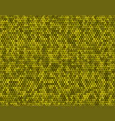 banner yellow random circle mosaic dots vector image