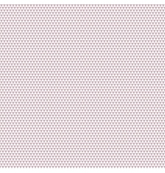 Big seamless pattern triangles on white background vector image