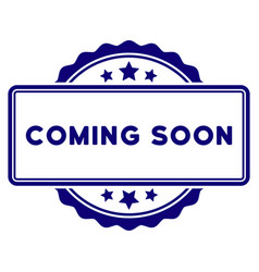 Coming soon seal template vector