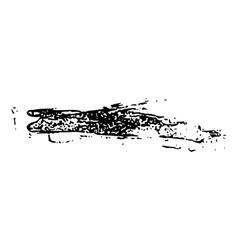 grunge brush stroke ink vector image vector image