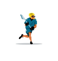 Lacrosse sign vector image