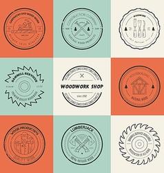 Timber Logos vector
