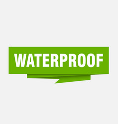 Waterproof vector