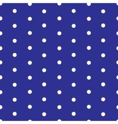 Polka dot seamless pattern vector image vector image
