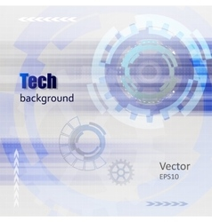 Technology Hi-tech background vector image