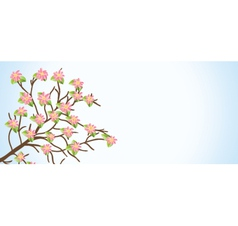 Flower Branch vector image vector image