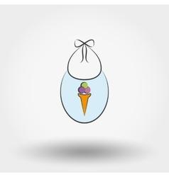 Newborn clothes vector image
