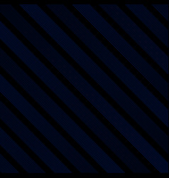 abstract diagonal line striped navy blue and vector image