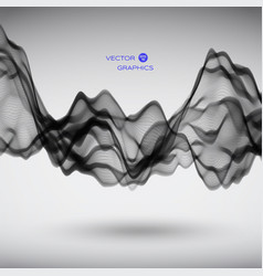 abstract signal wave vector image