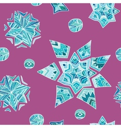 Aztec geometric pattern vector image