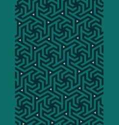 Geometric pattern hexagonal grid vector