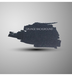 Grunge marker stain banner brushed ink texture vector
