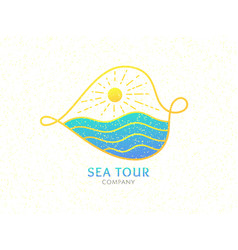 Logo cruise vector
