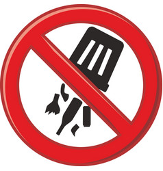 Prohibits waste dump vector