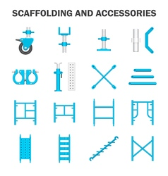 Scaffolding icon vector image