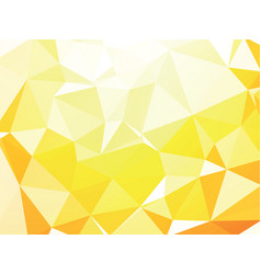 yellow white geometric background wallpaper vector image