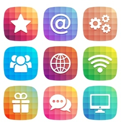 Trendy icon for Web and Mobile element vector image vector image