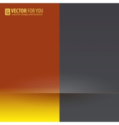 Contrast of colors background vector image