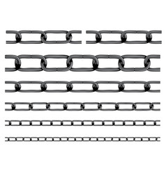 iron chain background vector image