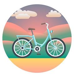 Bicycle Detailed vector image vector image
