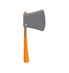 axe construction tool vector image