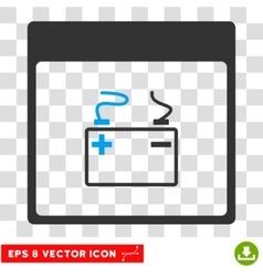 Accumulator Calendar Page Eps Icon vector