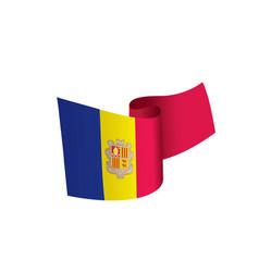 andora flag vector image