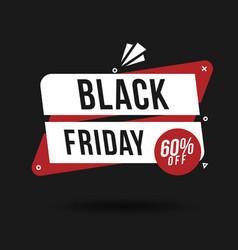 Black friday sale banner poster logo golden color vector