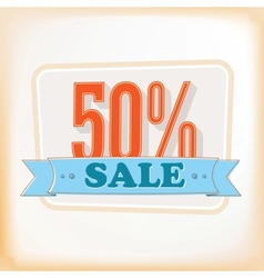 Discount labels 50 vector