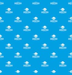 Jurassic period pattern seamless blue vector