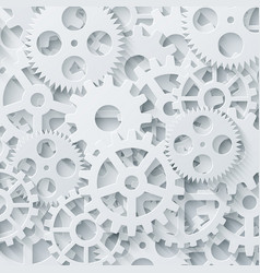 Modern mechanism industrial concept vector