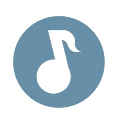 Music player button thumbnail icon image vector