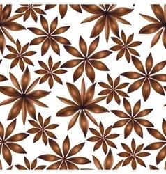 seamless cardamom pattern vector image