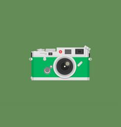 Vintage camera vector