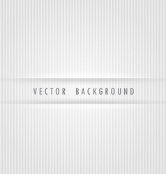 White strips background vector image
