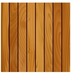 Wooden texture background with brown boards vector image