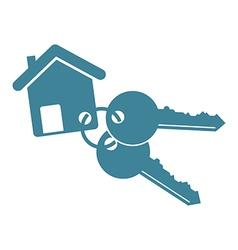 house keys vector image vector image