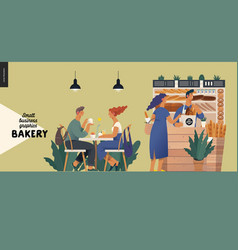 Bakery - small business graphics - vendor and vector
