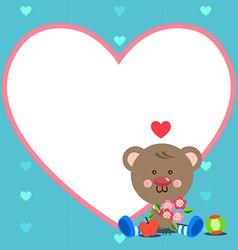 Bear frame vector