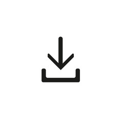 download - icon download icon vector image