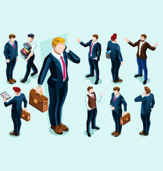 Isometric people vector