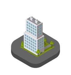 Skyscrapers House Building Icon Skyscraper vector